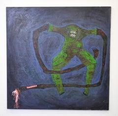 Lo de Siempre, Roberto Noboa, Oil on Canvas