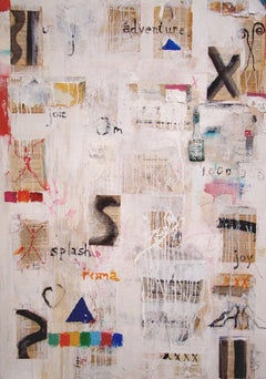 """""""LA DOLCE VITA"""" - Original Abstract Expressionist Painting by Amadea Bailey"""