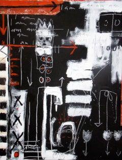 """I Am I Am"" - Original Expressionist Painting by Amadea Bailey"
