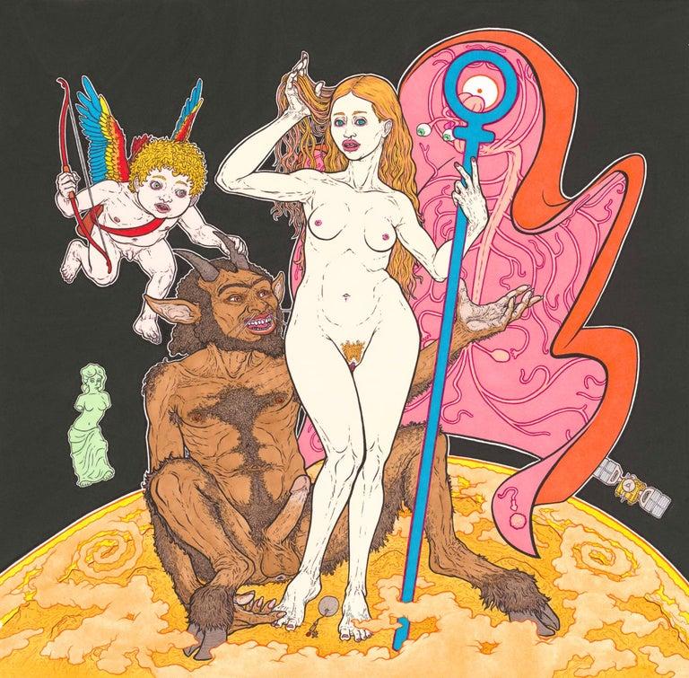Mat Brown Figurative Art - Venus