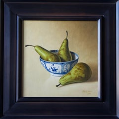Pears in Chinese Bowl