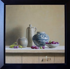 Plums and Ming Vase