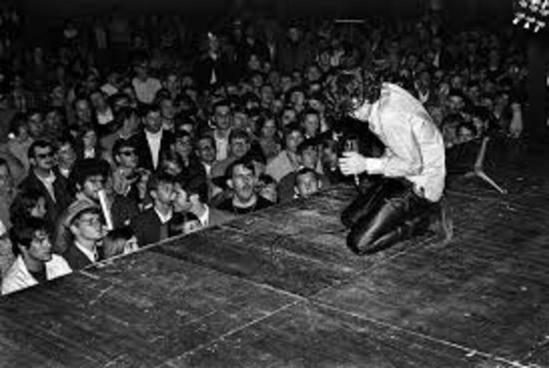 Günter Zint Black and White Photograph - The Doors - European Tour