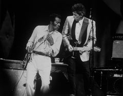 Chuck Berry  and Keith Richards at the Fox Theatre in St Louis Missouri