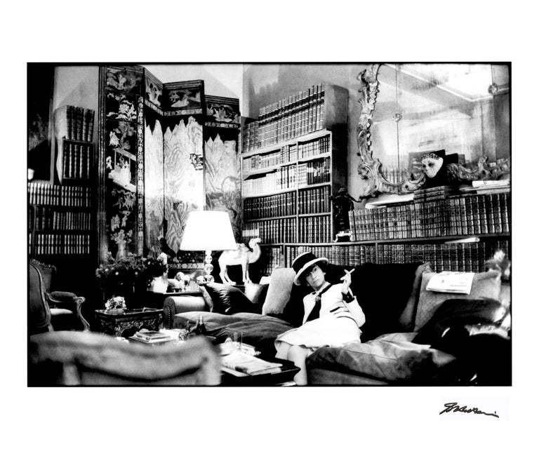"""Coco Chanel """"Mademoiselle """"  Suite Coco  """" The Ritz is my home""""  Coco Chanel was intimately linked to the Ritz Paris and she decorated her Suite herself. In her world, luxury is all grace and refinement, a reflection of her love for Asian lacquer,"""