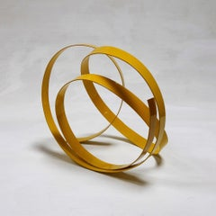 Corbant Yellow 5 - Abstract, Outdoor Sculpture, Contemporary, Art, Rafael Amorós