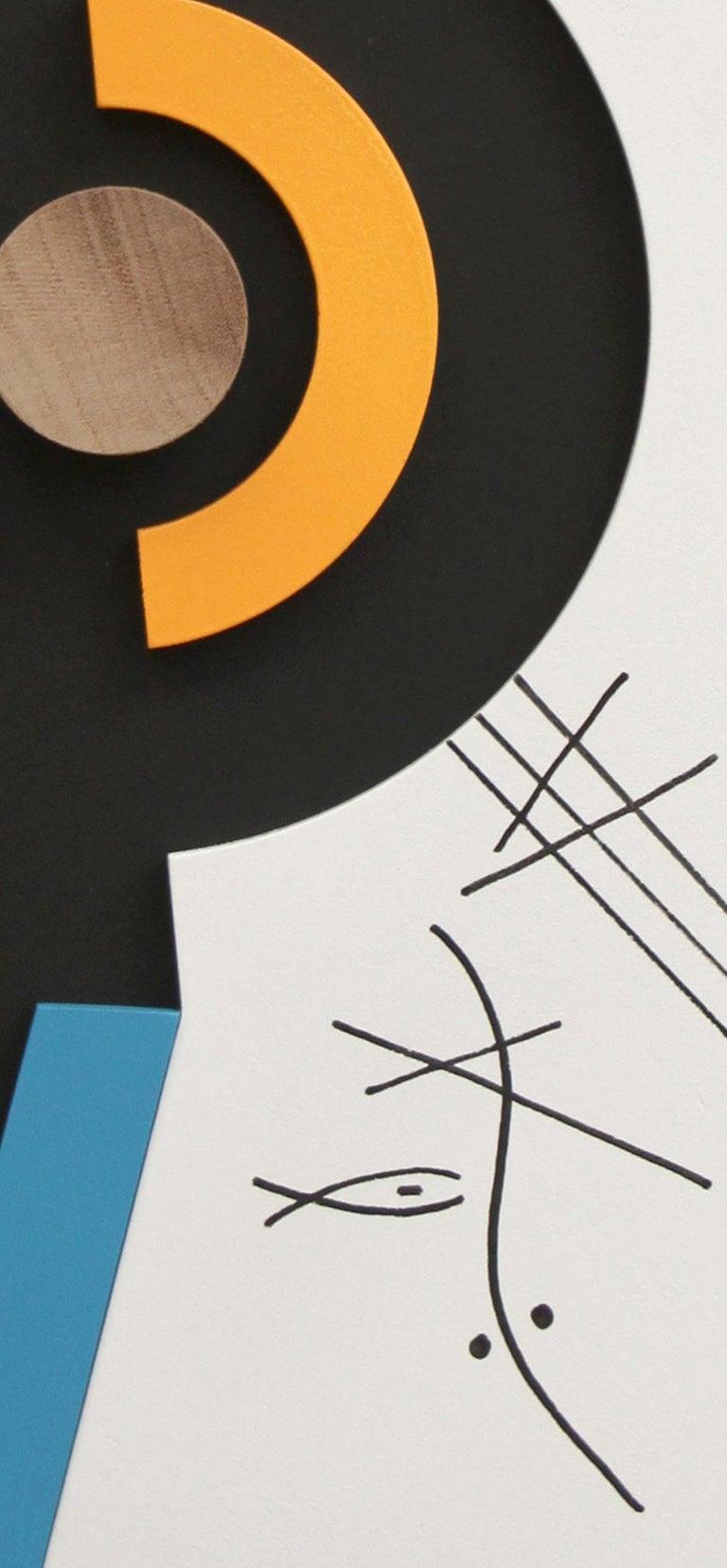 Ação sem contradição II - Abstract Sculpture, Wood, 21st Century, Acacio Viegas For Sale 3