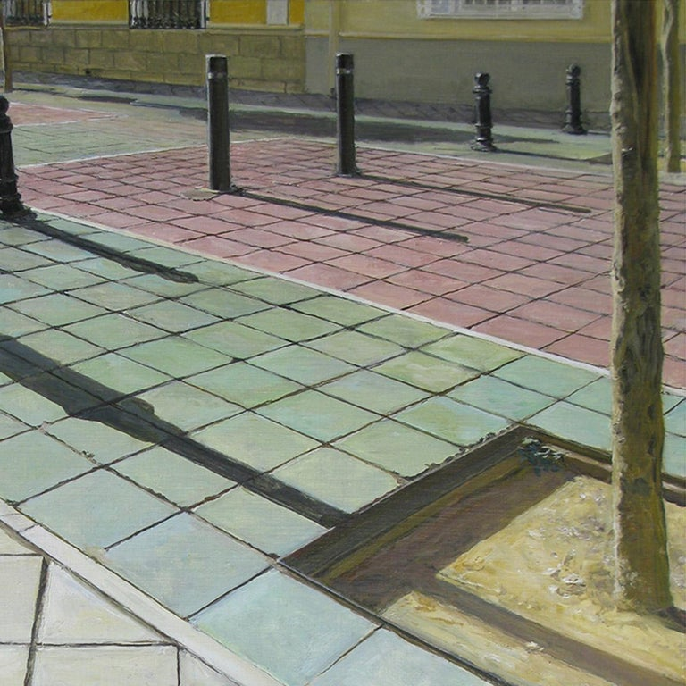 Félix de la Concha is a Spanish artist with an international projection. His compositions of architectural landscapes, painted entirely in the outdoors, emphasize the everyday and the ephemeral of time. Félix portrays the light, capturing even the