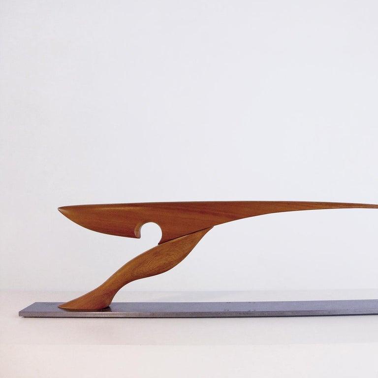 Pieza 714 - Abstract Sculpture, Wood, Metal, 21st Century, Antoni Yranzo, 2007 2