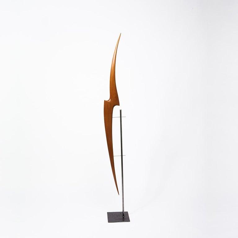 Pieza 616 - Abstract Sculpture, Wood, Metal, 21st Century, Antoni Yranzo, 2006 1