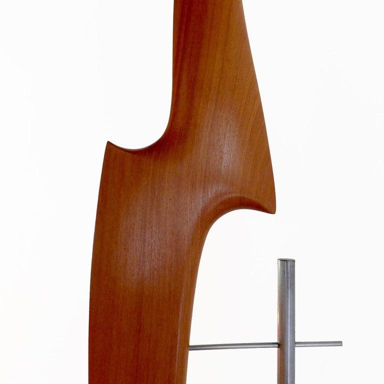 Pieza 616 - Abstract Sculpture, Wood, Metal, 21st Century, Antoni Yranzo, 2006 3