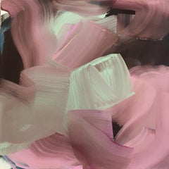 Bloom 2 - Abstract Painting, Acrylic on canvas, 21st Century, Peggy Cozzi, 2018