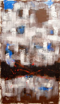 Untitled (Blue 2) - Abstract Painting, Contemporary, Art, Serafín Llopir