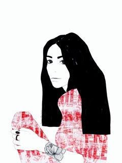 Fragile 1 - Digital Fine Art, Portrait, 21st Century, Ramona Russu, 2019