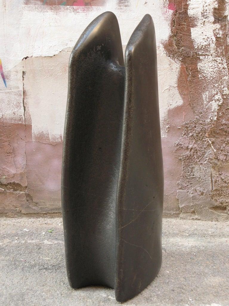 Vintage Int - Abstract, Outdoor Sculpture, Contemporary, Art, Ricard Casabayó - Beige Abstract Sculpture by Ricard Casabayó