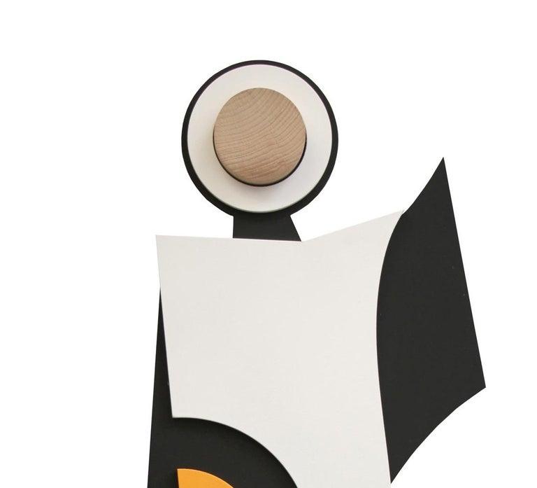 Ação sem contradição II - Abstract Sculpture, Wood, 21st Century, Acacio Viegas For Sale 1
