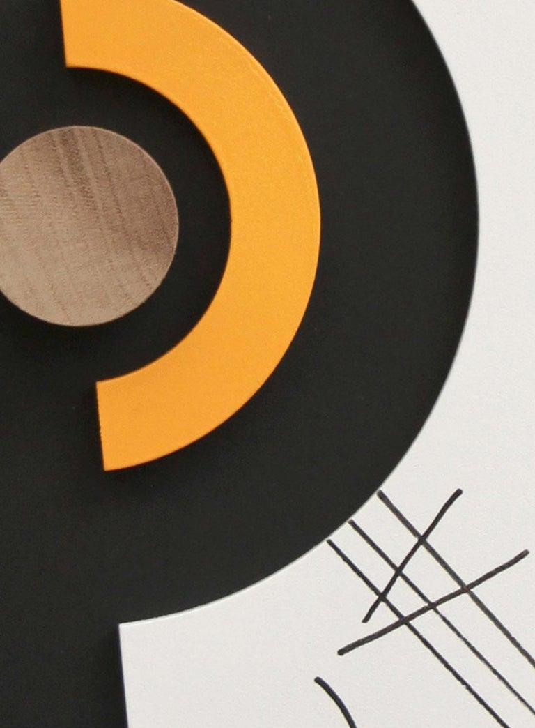 Ação sem contradição II - Abstract Sculpture, Wood, 21st Century, Acacio Viegas For Sale 2