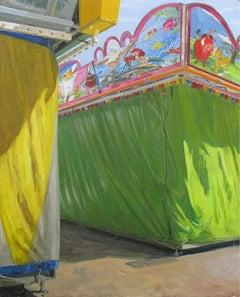 Toldos De La Feria -  Oil Painting, Realism, Contemporary, Art, Félix de la Conc