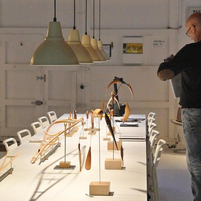Pieza 714 - Abstract Sculpture, Wood, Metal, 21st Century, Antoni Yranzo, 2007 5