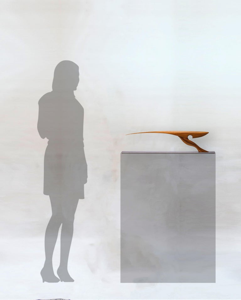 Pieza 714 - Abstract Sculpture, Wood, Contemporary, Minimal, Art, Antoni Yranzo 4