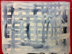 Cast - Expressionist, Abstract Painting, Contemporary, Art, Wood, Karl Bielik