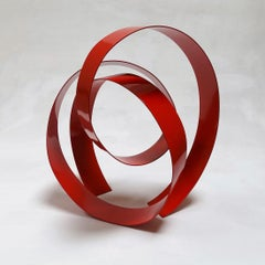 Corbant Red 11 - Abstract, Outdoor Sculpture, Contemporary, Art, Rafael Amorós