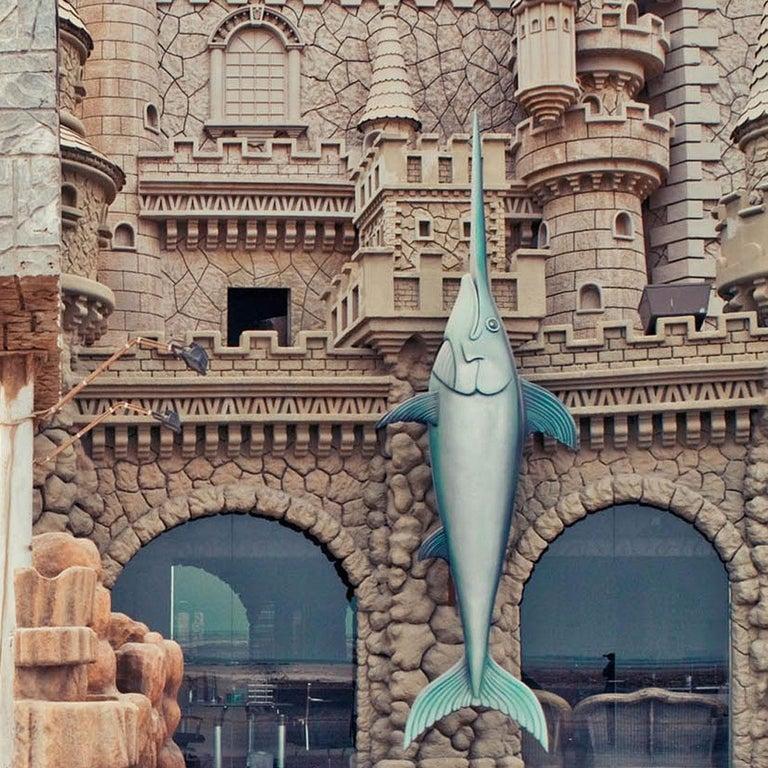 Al Khobar - Fine Art Photography, Landscape, Contemporary, Art, Roger Grasas - Gray Color Photograph by Roger Grasas
