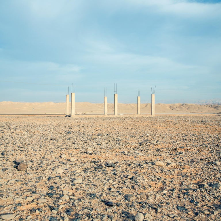 """The latest series of Roger Grasas, """"Ha Aretz"""" is an exploration of biblical sites, created over seven years, in ancient locations across Israel, Palestine, Egypt, Lebanon, Jordan and Syria. """"Ha Aretz"""" is the winner series of the """"Descubrimientos"""""""