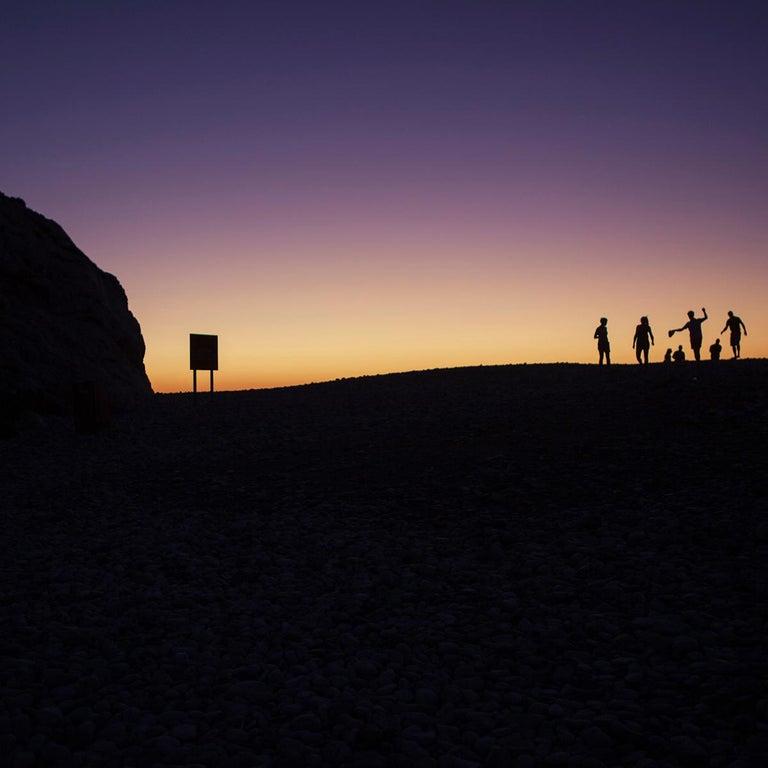 Aphrodite Rock, Paphos - Photography, Landscape, 21st Century, Roger Grasas - Black Color Photograph by Roger Grasas