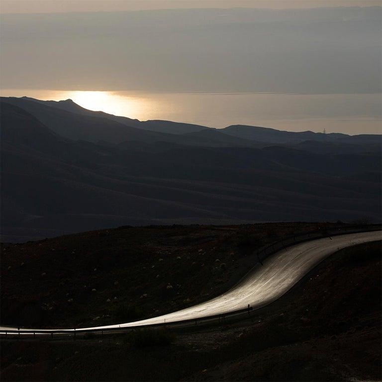 Mount Nebo I, Jordan - Photography, Landscape, 21st Century, Roger Grasas, 2012 - Black Color Photograph by Roger Grasas