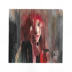 Epilogue - Watercolor Painting, Expressionist, Contemporary, Art, Marie Tooth