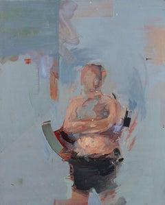 Londres - Abstract Expressionism, Acrylic on Canvas, Art, Elías Peña Salvador
