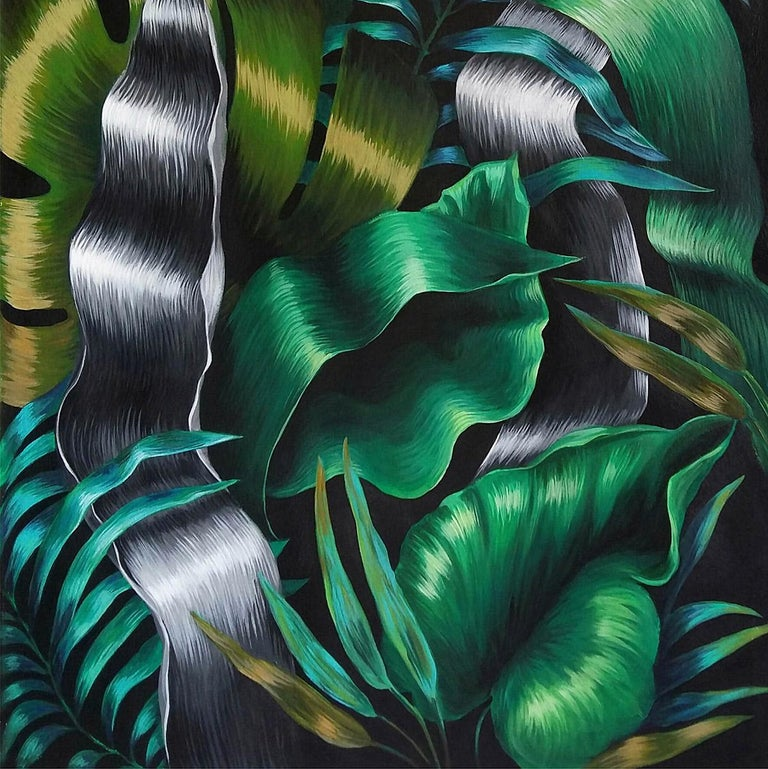 Inspired by botany, architecture and the human body, Mica Lucas develops her works based on what surrounds her, always looking for a new technical challenge and something different to represent. Through her artistic career, Mica worked with