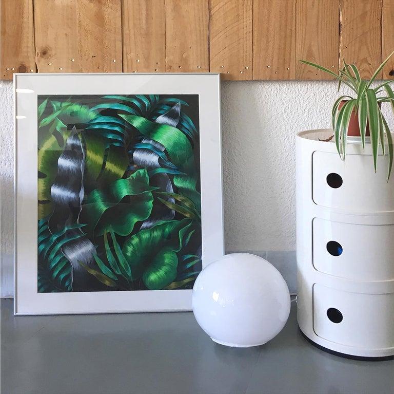 Plantas - Figurative Painting, Acrylic, Plants, Contemporary, Art, Mica Lucas For Sale 1