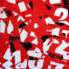 SLPCXXXIV - Collage, Paper, Mixed Media, Contemporary, Art, Christian Gastaldi