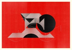 M315 - Digital Painting, Architectural, Contemporary, Art Decó, Jesús Perea