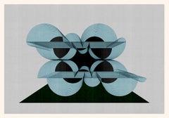M367 - Digital Painting, Architecture, Contemporary, Art, Art Decó, Jesús Perea