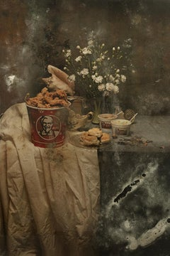 KFC II - Photography, Still Life, Baroque, Contemporary, Art, Food, Aaron Alamo