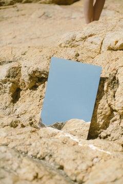 Espejo - Fine Art Photography, Mirror, Sky, Blue, Contemporary, Martina Matencio