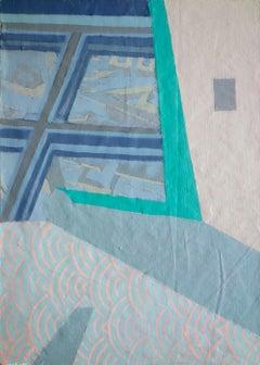 Turismo 9 - Surrealist Painting, Abstract, Contemporary, Art, Ricardo Gonzalez