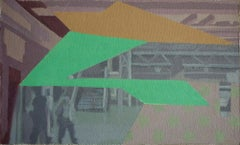 Turismo 10 - Surrealist Painting, Abstract, Contemporary, Art, Ricardo Gonzalez