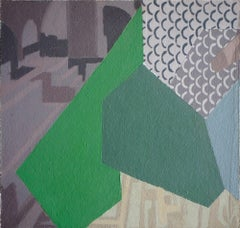 Turismo 12 - Surrealist Painting, Abstract, Contemporary, Art, Ricardo Gonzalez