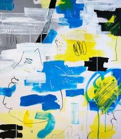 Untitled - Abstract Painting, Oil, Canvas, Contemporary, Art, Antonio Santafé
