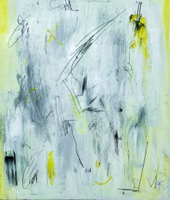 Impro I - Abstract Painting, Oil on Canvas, Contemporary, Art, Antonio Santafé
