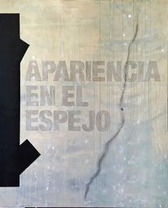Apariencia - Conceptual Painting, Mixed Media on Canvas, Norberto Sayegh, 2015