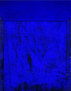 Untitled Blue - Abstract Painting, Sculpture, Minimalism, Art, Jaime Poblete