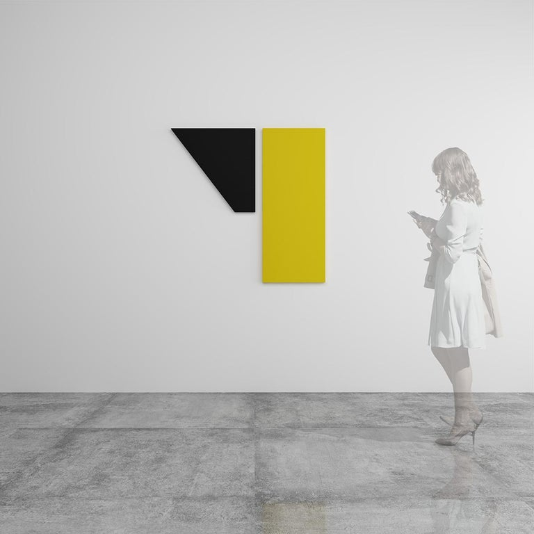 Untitled Diptych - Abstract Painting, Sculpture, Minimalism, Art, Jaime Poblete For Sale 1
