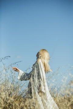 Untitled 7 - Fine Art Photography, Portrait, Landscape, Blue, Sofia Fernandez
