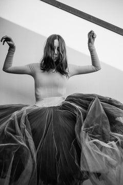 Untitled 19 - Fine Art Photography, Dance, Black & White, Sofia Fernandez