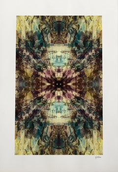 Kaleidoscope III - Abstract Unique Digital Art, Fine Art Giclée, Ribes Art